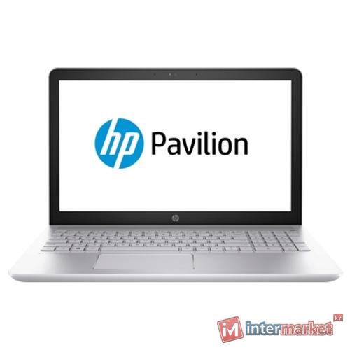 Ноутбук HP Pavilion 15-cc008ur/CORE I5-7200U/15.6 FHD/8GB/1TB/NVIDIA GEFORCE GT 940MX 2GB/DVD/DOS/MINERAL SILVER