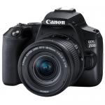 Цифровая зеркальная фотокамера Canon EOS 250D EF-S 18-55 IS STM Kit Black